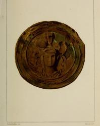III. Бронзовая бляха, найденная в Луговой Могиле. Русское искусство. Виолле-ле-Дюк Э.Э. 1879