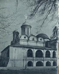 3. Ярославль. Спасо-Преображенский монастырь: Спасо-Преображенский собор (1516 г.)