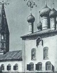 26. Ярославль. Храм Николы рубленый город (1695 г.)