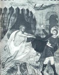 31. Храм Иоанна Предтечи в Толчкове (1671—1687 гг.): роспись стены