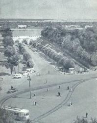 44. Ярославль. Красный спуск и мост (1820 г.)