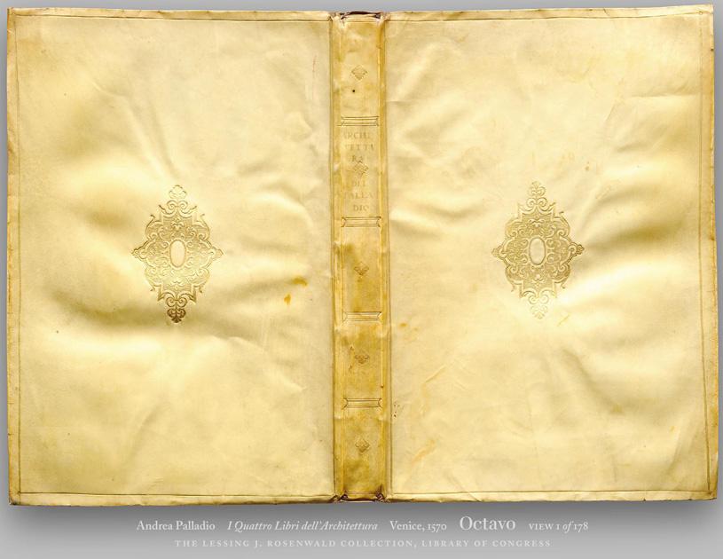 I Quatro Libri dell' Architettura. Andrea Palladio (Четыре книги об архитектуре. Андреа Палладио). 1570 г.