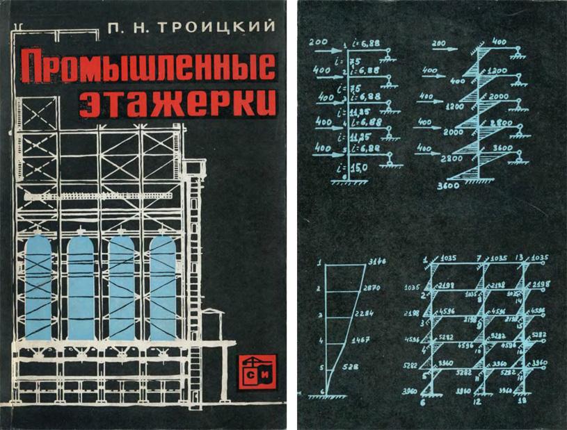 Промышленные этажерки. Троицкий П.Н. 1965
