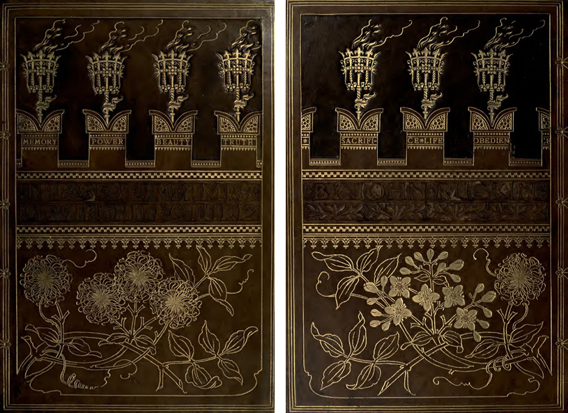 The Seven Lamps of Architecture. John Ruskin. 1889