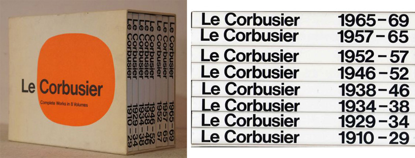 Le Corbusier: Complete Works (Полное собрание работ Ле Корбюзье в 8 томах)